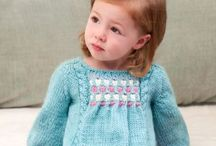 Knitting and crochetting for kids