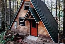 Into the Wild / Tree houses, lake houses and cabins