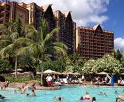 Disney Aulani Resort, Oahu / We stayed at the Disney Resort on Oahu for 3 days.  Here's what we got up to.