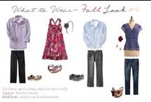 What to Wear to Your Session / What to Wear Inspiration for Your Family's Photography Session