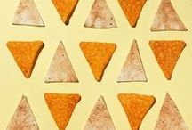 Food geometry / Precise food arrangements. With a focus on shapes and composition.