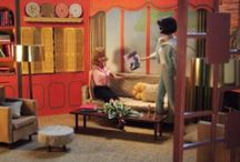 dollhouse / Dollhouses, mostly playscale and diorama scenes with 12 inch dolls