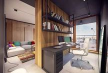Biroul de acasa/Home office
