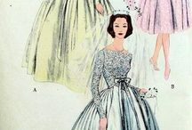 Bridal fashion patterns