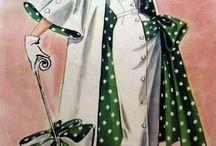Retro clothing patterns