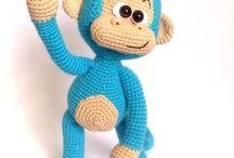 My crochet toys / Crochet hand made крючок ручная работа интересное вязание