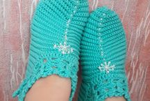 Crochet accessories and clothing