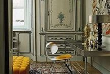 Saffron - Color Theory Design Inspiration / #interiordesign #saffron #colortheory