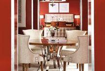 Vermilion - Color Theory Design Inspiration / #vermillion #colortheory #interiordesign