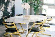 Take A Seat: Stylish Dining Chairs / #interiordesign #dining #diningchair #diningroom #interiordecor #luxe #luxury