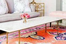 Stunning Area Rugs / #interiordesign #carpet #arearug #handtufted #handloomed #silk #luxe #luxury