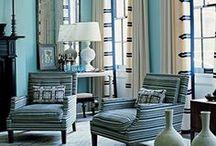 Pattern Fabric Trends / #interiordesign #interiordecor #fabric #pattern #luxe #upholstery #drapery #luxury