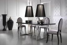 "Luxury Dining Room Collection / The Luxury Dining Room collection blends elegance with luxury seamlessly, resulting in furniture that will truly set your dining area far above ""the norm."" With pieces including chairs, dining tables and display cabinets, this furniture collection mixes practicality with style to make your home unique and comfortable. Order online, or please do call us on 00 44 (0) 207 870 7415 for more information."
