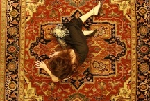 Model With Rugs / Beautiful model displaying our rugs.