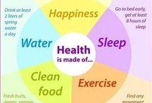~Health~Salud~ / Health / by Sonia Aguiar