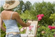 ~Watercolor Outdoor Painting~ / Watercolor outdoor paintings