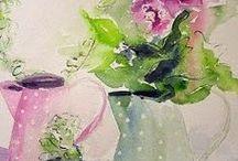 ~I Love Watercolor still life~ / Watercolor stil life