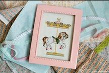 Cross-stitching / Cross-stitching works by me, blog Art in mess