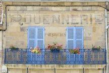 peintures murales / Mooie muurschilderingen in Frankrijk.