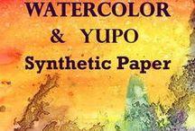 ~Watercolor on yupo~ / Watercolor yupo