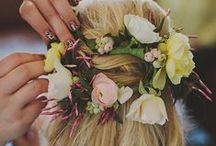 Wedding Hair Styles / Inspiration for Beautiful Hair on your Wedding Day!