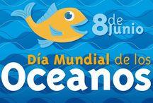 """BERED-Temática: El mar / Recursos didácticos -las lecturas van en otro tablero- para desarrollar la temática """"El mar"""" por el grupo Bibliotecas Escolares en Red de Albacete. Para el curso 2015-16"""