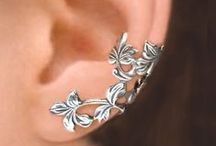 ear-rings and cuffs