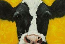 ~Cows & calves in art~ / Cows & calves in art