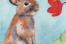 ~Rabbits in art~ / Rabbits in art