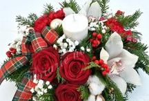 Christmas / Aranjamente de Craciun Christmas floral arrangments