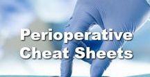 Perioperative Cheat Sheets