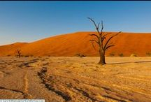 Exploring Namibia / A board on the beautiful west-African country of Namibia.  The ideal place for a Nambian road trip, with an amazing landscape from Fish River Canyon in the south to Etosha National Park in the north.