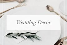 // Wedding Decor //