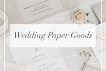 // Wedding Paper Goods //