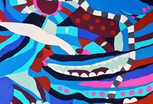 """JaneA ArtWork """"ColorSeries"""" / My Artwork, watercolor and ink..."""