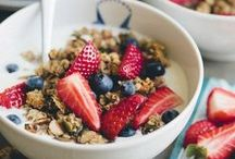 Let's eat Healthy! / Breakfast, brunch, lunch or dinner are all about being healthy.