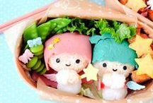 Kyaraben Bento / Een bento box is een traditionele Japanse lunch in een trommeltje. Maar bij kyaraben bento maken ze er een waar kunstwerkje van door allerlei characters te vormen van de etenswaren. Zelf mee aan de slag? Kijk dan eens hier: http://www.thesushitimes.com/eten-drinken/eten/kyaraben-hoe-japans-wil-je-het-hebben/