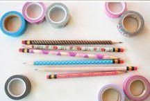 Japan inspired D.I.Y / Vind je het leuk om creatief bezig te zijn? Geef dan eens een Japans tintje aan je knutselwerken met deze toffe D.I.Y. projecten, geïnspireerd door Japan <3