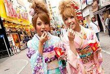 J-Fashion: Street Fashion / De Japanse straatmode is ontzettend gevarieerd en biedt vele extreme smaken die je nergens anders tegenkomt. Hier vind je onze favorieten! Meer Japanse mode bekijken? We hebben nog veel meer bijzondere boards!  https://www.pinterest.com/thesushitimes/