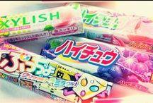 Japans Snoep & Snacks / In Japan weten ze wel wat lekker eten is, en ook qua snoeps en snacks is er meer dan genoeg lekkers om je buik mee te vullen ;)