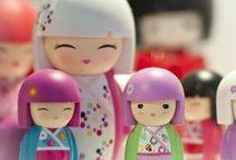 Kokeshi Dolls / Traditionele Kokeshi Dolls zijn pure stukjes vakmanschap maar ook de moderne variant is noemenswaardig ;)