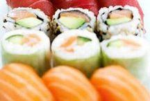 Sushi & Sashimi / Sushi & Sashimi zijn niet alleen typisch Japans, ze zijn ook nog eens ontzettend lekker én zien er mooi uit ;)