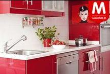 Czerwona kuchnia! / Przedmioty w soczystych, czerwonych  kolorach