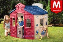 Bajkowy ogród! / Więcej zabawy! Domki, piaskownice, huśtawki, zabawki ogrodowe