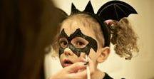 Halloween, ansigtsmaling