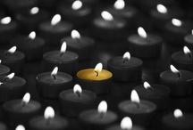 Candles  / by Cynthia@ Beach Coast Style.com