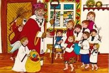 St. Nicholas Market Bakery / 7th annual Market  at 2510 Piney Plains Rd. Cary NC is Dec. 6, 2014 from 10 am - 3 pm.  Market stroll and pre-sale, caroling and visit of St. Nicholas Friday evening Dec. 5 from 7-9 pm. Like us on FB: https://www.facebook.com/SaintNicholasMarket for more info and the best of European baked goods, decorative items, gifts, and new and vintage linens for your home and family celebrations all year 'round! saintnicholasmarket@gmail.com / by Nancy Driscoll