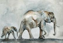 L'Elephant!  (46) / by Mary Hedges