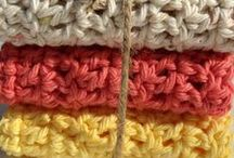 Crochet Craft Ideas / Tutorials, craft projects, color pallets ideas