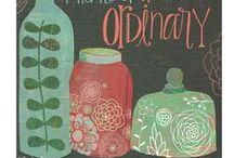 My Artwork (Polka Dot Mitten Designs) / by Katie Doucette